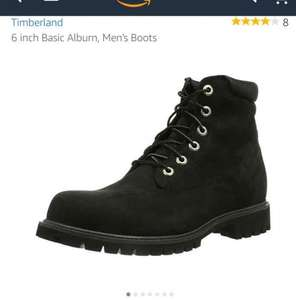 Timberland 6 inch Basic Alburn , Black . Men's boots New! £61.57 down from £160 you save £98.43 ( 62% )  from Amazon.co.uk. Perfect for the big boys
