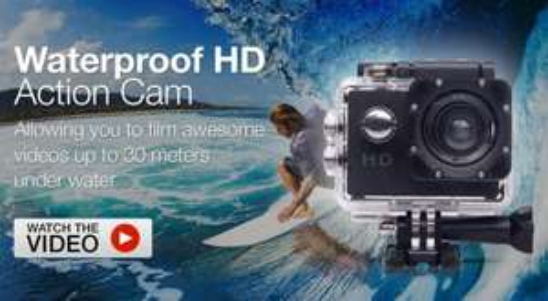 Bitmore Compact HD Waterproof Action Camera £22.99 @ MyMemory