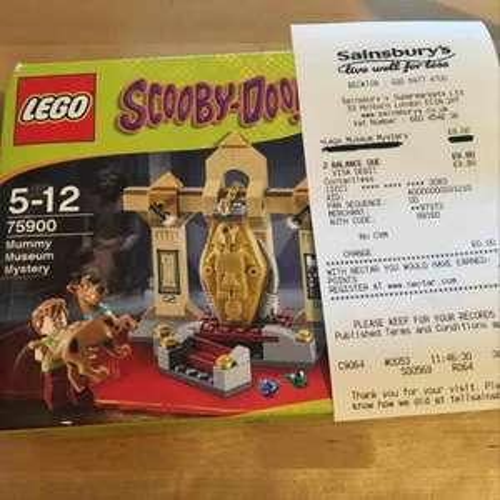 Lego 75900 Scooby Doo Mummy museum mystery - £8 instore @ Sainsbury's (Beckton)