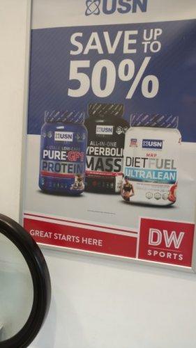 USN upto 50% off @ DW fitness (i.e £16 for ultralean 1 kilo)