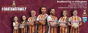 Bradford afc kids tickets just £1 vs gillingham @ Bradford online ticket office