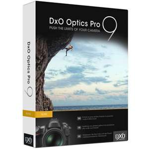 DxO Optics Pro 9 Elite Edition [for PC & Mac] (a good RAW Processing Software), formally $199.00, and now free, at SharewareOnSale