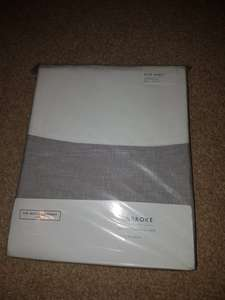 All flat sheets £15 at The White Company outlet store, Clarks Village
