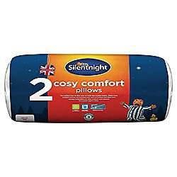 Silentnight Cosy Comfort 2 Pack of Pillows £5.00 Tesco Click+Collect