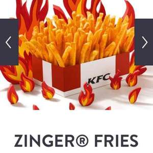 NEW KFC Zinger Fries 99p for large box