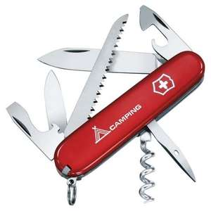 Victorinox camper Swiss Army Knife Multi-Tool @Tesco Direct - £7.75 (Free C&C)