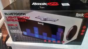 rock jam bluetooth speaker scanning at £19.99 at B&M