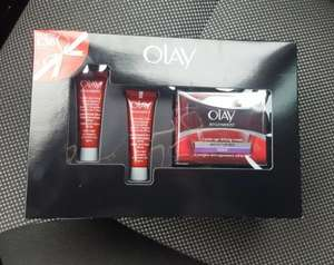 Olay regenerist 3 point night cream gift set with 3 products instore at BOOTS £5