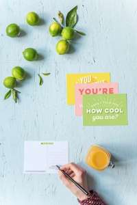 Free thank you cards from hellofresh.