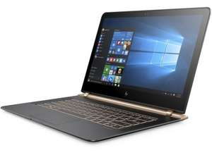 "HP Spectre 13-v001na Laptop, Intel Core i7, 8GB RAM, 512GB SSD, 13.3"", Full HD, Ash Luxe Copper, Free 3 Year Guarantee, £989.95 from John Lewis"
