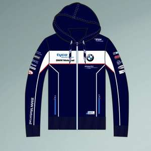 Tyco BMW hoodie + lots of other BSB clothing reduced £20 / £23.80 delivered @ Clinton enterprises