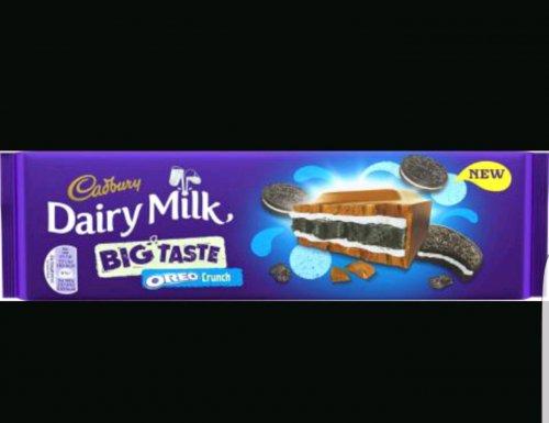 Dairy Milk Oreo Crunch (300g) 75p Morrisons