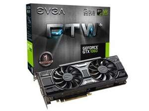 EVGA GeForce GTX 1060 FTW GAMING ACX 3.0 3GB £189.98 @ CCL Online