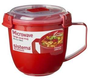 Sistema large soup mug reduced to 60p at Sainsbury's instore - Waterlooville