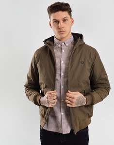 Fred Perry Hooded Brentham Jacket £81 from £135 @ Terraces