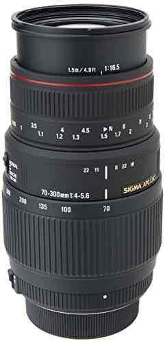Sigma 70-300mm f4-5.6 APO DG Macro For Nikon Digital & Film Cameras - £98.89 @ Amazon