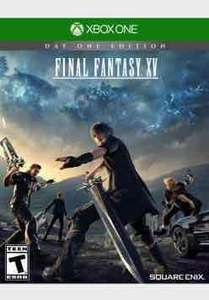 Final fantasy XV Day one edition (Xbox one/PS4) £28 @ amazon (tesco price match)