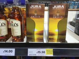Jura origin 70cl 10 year old whiskey RTC instore £15.50 @ Tesco