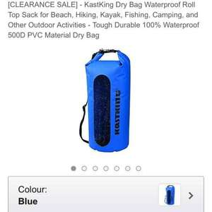 30Lt dry bag - Blue 3 £13.98 (Prime) Sold by Eposeidon_fishingpro and Fulfilled by Amazon