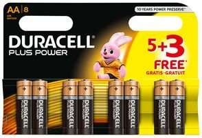 16 x DURACELL Plus Power AA Alkaline Batteries with Duralock - £6.60 Delivered @ CPC Farnell