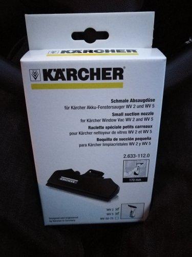 Karcher small suction Blade for WV5+WV2 28p Tesco instore