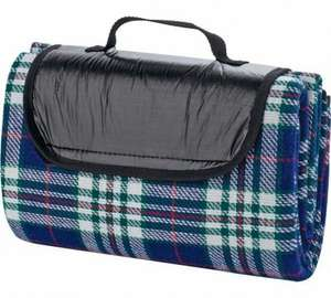 Chequered Camping Picnic Blanket £2.99 [Further Reduced] Argos (Free C&C)