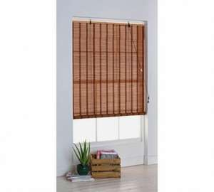 HOME Eastern Style Bamboo Roller Blind 4ft £3.99 [Further Reduced] Argos (Free C&C)