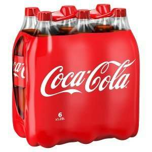 6x 1.25 litre coke/diet coke £2.49 at Heron Foods.