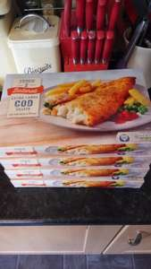 Tesco extra large cod fillets 75p @ Tesco instore