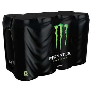 Monster Original Energy Drink 8 x 500ml for £4.00 at Morrisons