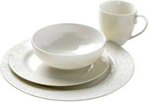Denby Monsoon Lucille  16 piece dinner set £76 Amazon