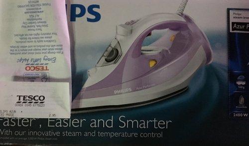 Phillips Azur Iron £2.95 Tesco instore