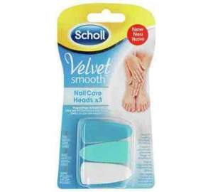 Scholl Velvet Smooth Electronic Nail Care System Refills @ Argos Was £11.99 Now £3.99 in stock around me