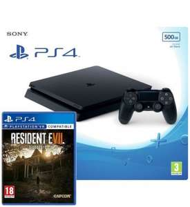 PS4 Slim 500GB + Resident Evil 7 + Extra DS4 £249.98 Free Delivery @ Ebuyer
