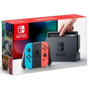 Neon Switch back in stock £279.99 @ Nintendo UK Store for launch (Payment on dispatch!)