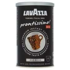 Lavazza Prontissimo Premium Instant Medio Coffee Tin 95 g (Pack of 6) £14.15 / £18.90 non prime @ Amazon