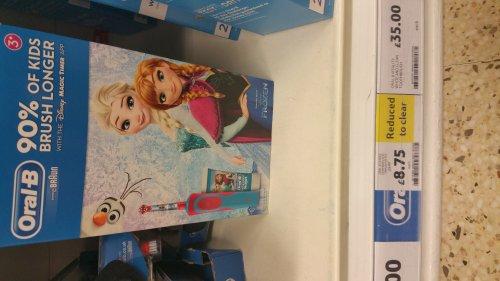 Oral-B electrical kids toothbrush £8.75 @ Tesco instore - Bristol