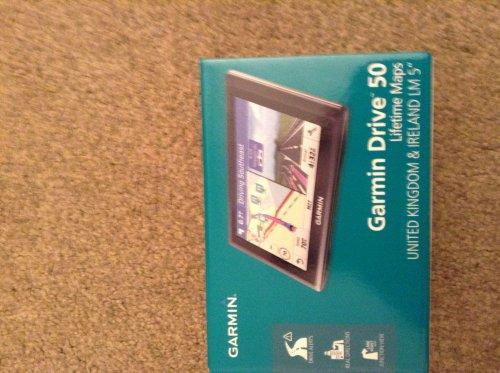 Garmin 50 LM satnav at Sainburys for £40