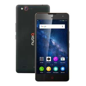 "ZTE Nubia Z7 Max, 5.5"", 2GB RAM, 32GB, MicroSD Slot, 13MP/5MP Cameras, Gyroscope, Compass, NFC, Dual-SIM, 3100mAh, Qualcomm Snapdragon 801 Quad Core, 4G Smartphone, Black, £81.46 Delivered @ Banggood"