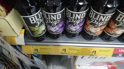 Blind Pig Cider £1 Morrisons