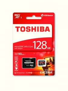 Toshiba 128GB EXCERIA M302 4k 90MBPS Micro SD With Adapter £34.99 @ Ebuyer