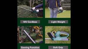 18v Li-Ion Cordless Hedge trimmer@ B+Q £38 or if you join B+Q club £33