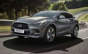 Infiniti Q30 1.5d SE Lease £147.34 pm 24 months 8000miles pa Total £4618 - Nationwide Vehicle Contracts