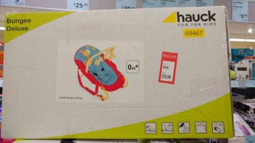 Hauck Bouncer £13.99 instore @ Aldi