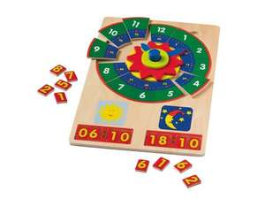 PLAYTIVE JUNIOR Kids' Wooden Learning Puzzle at Lidl from 9TH FEB - 5 to choose from £3.99 each