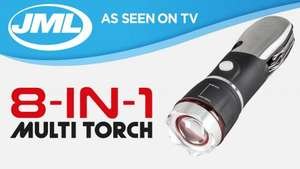 JML 8-in-1 Multi Torch: Bright LED Torch & Multi-Tool Penknife  £5.97 @ Asda Wolstanton instore