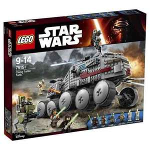 Lego Star Wars 75151 Clone Turbo Tank £47.49 Click & Collect @ Tesco Direct