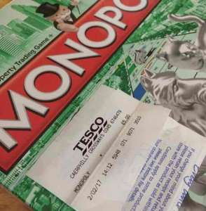 Hasbro Monopoly Board Game - £5 in store at Tesco Caerphilly
