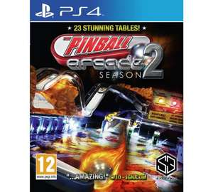 Pinball Arcade Season 2 (PS4) £9.99 Delivered @ Argos