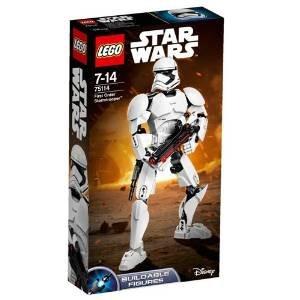 Buildable Stormtrooper! Lego 75114! £9.40 prime / £13.39 non prime @ Amazon
